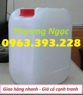 Can nhựa 10 lít, can nhựa đựng hóa chất, cannhựa HDPE, can nhựa có nắp garenty 10L4