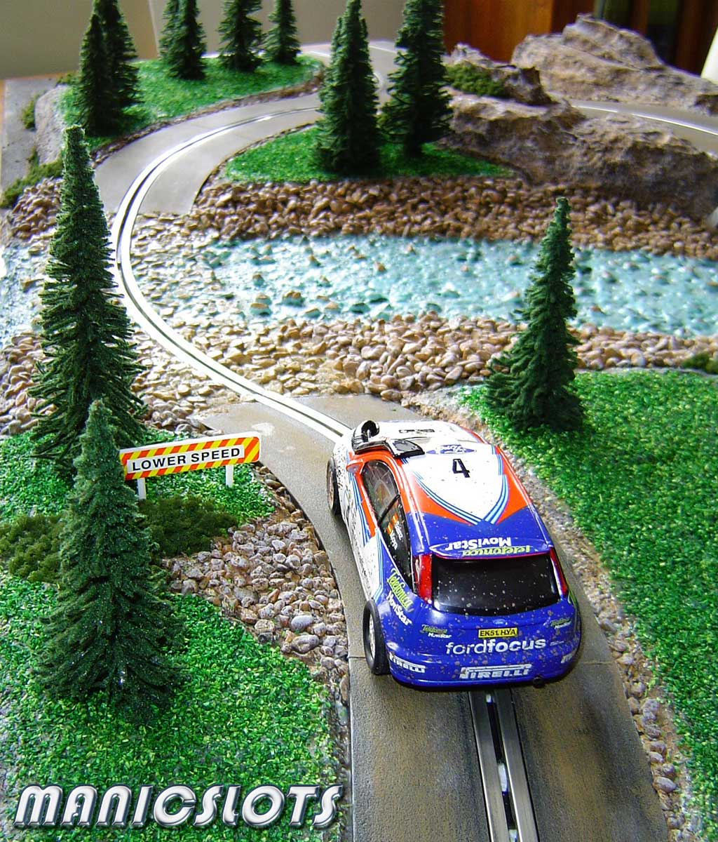 ManicSlots' Slot Cars And Scenery: HOW-TO: Rally Scenery