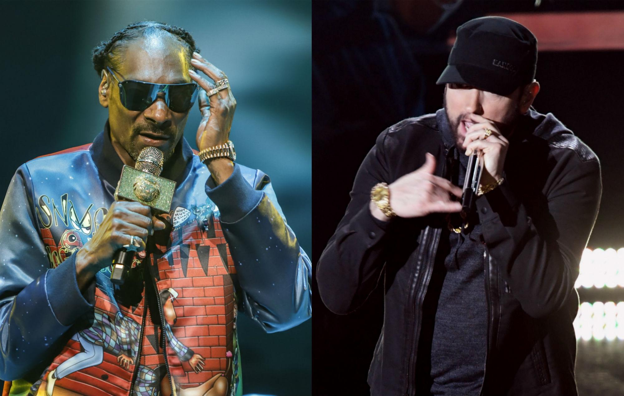 Eminem e Snoop Dogg estão em pé de Guerra
