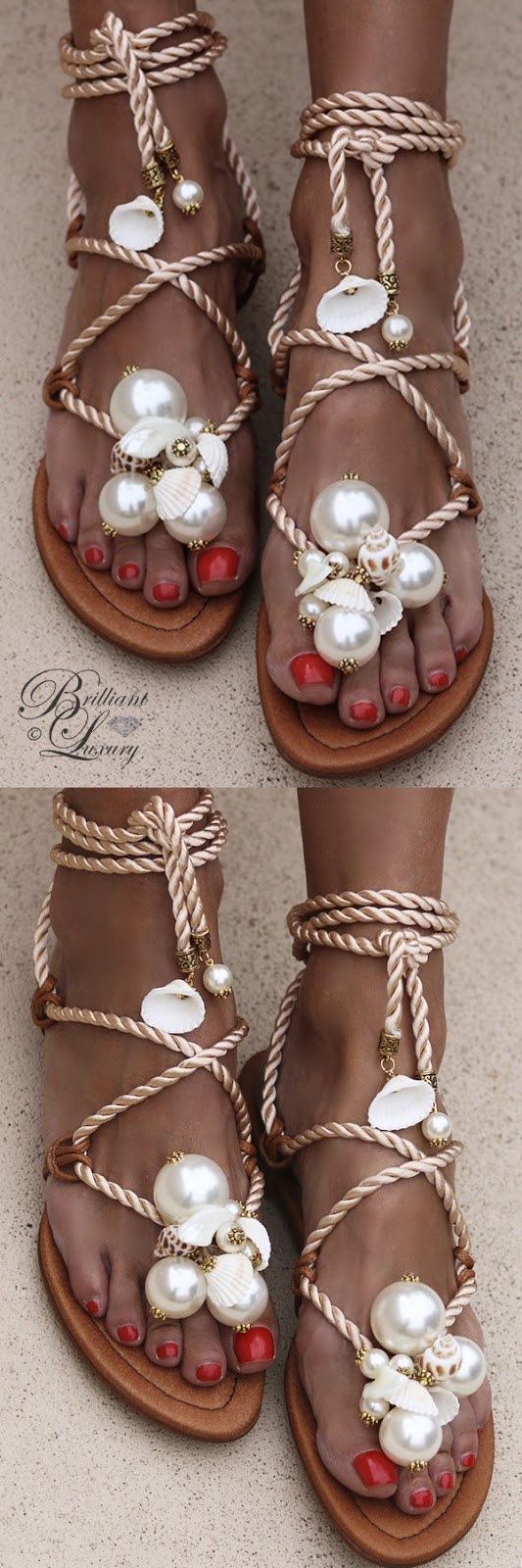 Brilliant Luxury ♦ Alameda Turquesa Ariel sandals
