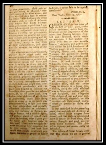 1787 1788 the federalist essay