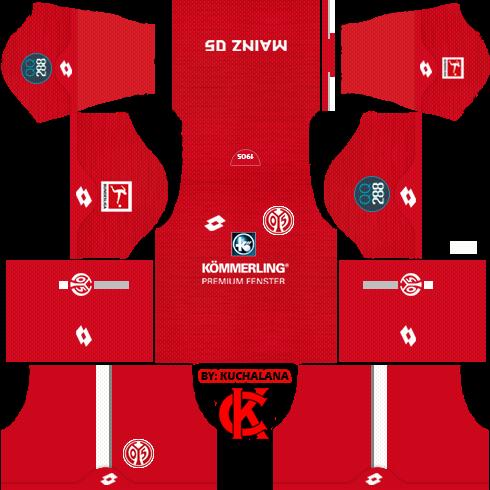 Mainz 05 2019/2020 Kit - Dream League Soccer Kits