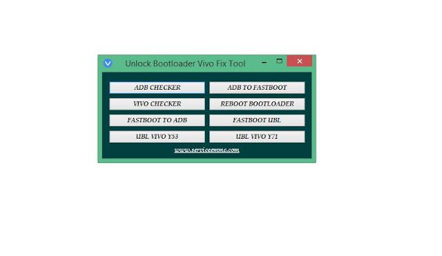 UNLOCK BOOTLOADER VIVO TOOL V1.0.0 ONE CLICK MUNCRAT