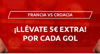 Mondobets promo Francia vs Croacia 8-9-2020