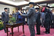 Delapan Pejabat Struktural Lingkup Kota Mataram Dilantik