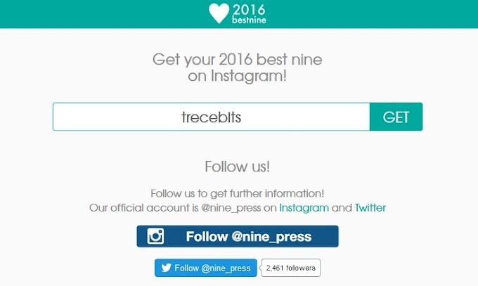 Cómo publicar las 9 mejores fotos de Instagram en 2016