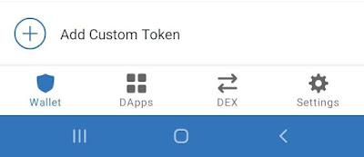 Cara Menambah Daftar Coin Baru di Trust Wallet / Dompet Coin Crypto