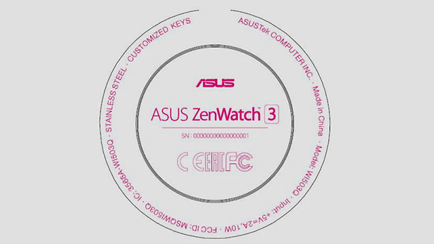 Asus ZenWatch 3 Features