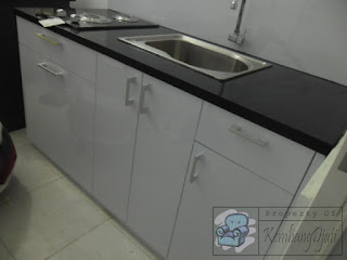 Diskon Kitchen Set Meja Bawah Granit (Furniture Semarang)