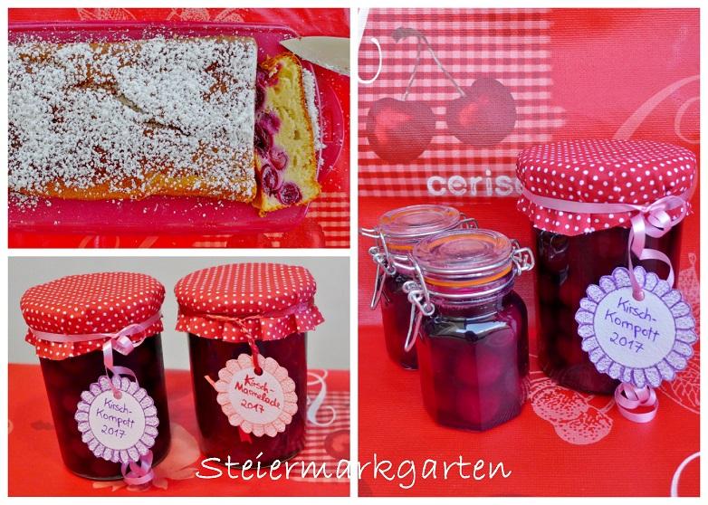 Kirschrezepte-Collage-Steiermarkgarten