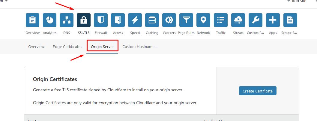 Cài SSL trên Cloudflare