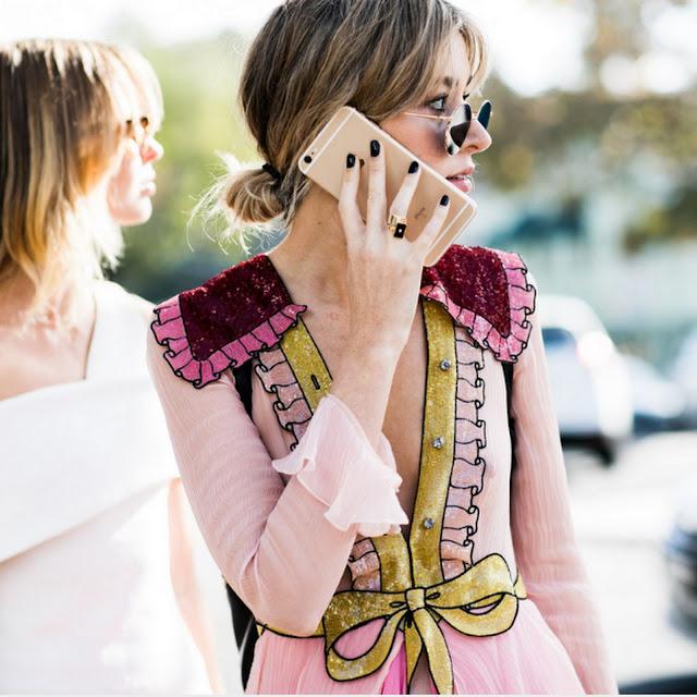 Street Style Gucci Girls Australian Fashion Week 2016 in Sydney