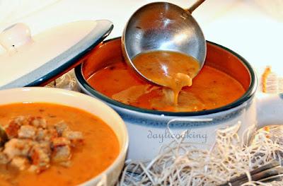 przepis na zupę serową, zupa bryndzowa