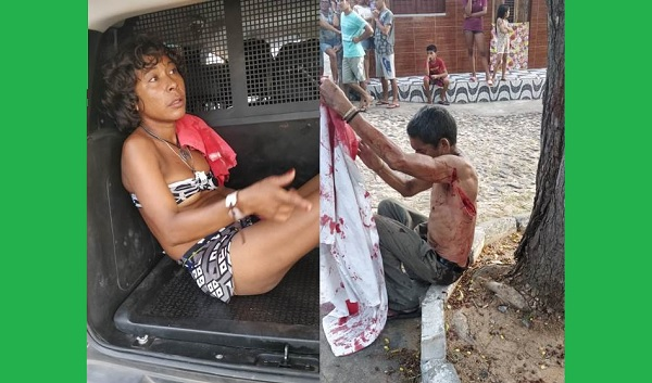 Deficiente mental é brutalmente esfaqueado por mulher em Parnaíba