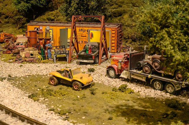 Train Journey at EnterTRAINment Junction