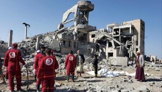 Serangan Udara Koalisi Arab Kenai Penjara Syiah Hutsi, Puluhan Tewas