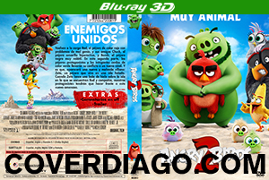 Angry Birds 2: La Película - BLURAY 3D
