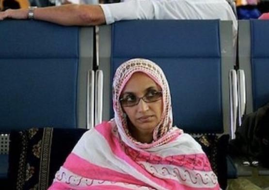 أمينتو حيدرتمنع من مغادرة المغرب بسبب إصابتها بفيروس كورونا