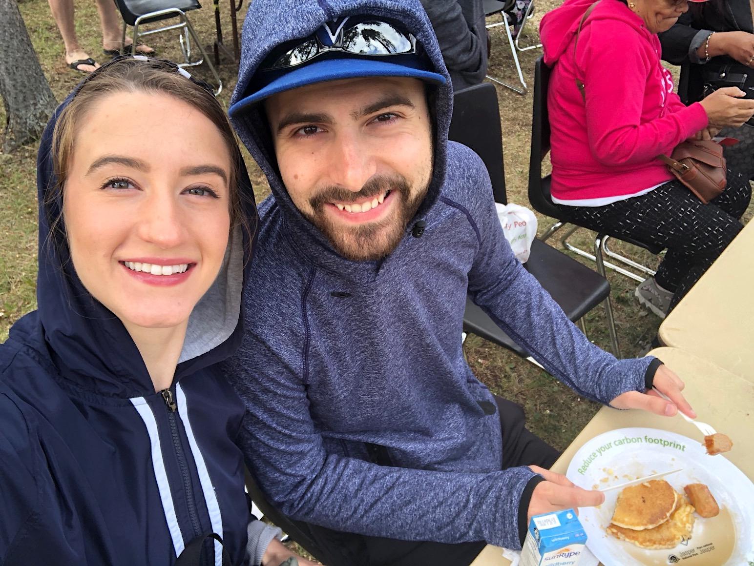 Jasper Canada Day Celebration breakfast