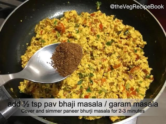 Paneer Bhurji Masala Recipe
