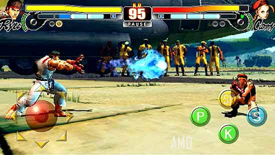 Street Fighter 4 HD Apk 1.03