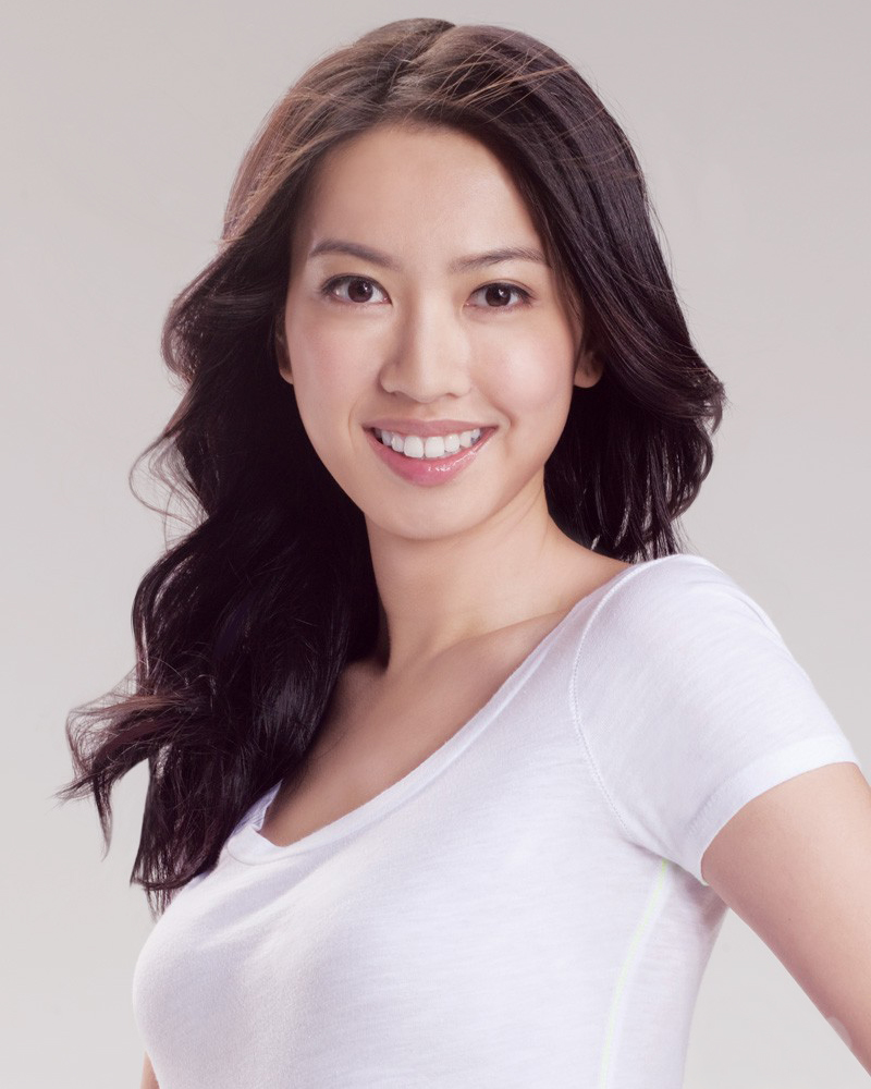 Tracy Chu artis manis dan seksi dengan senyum indah