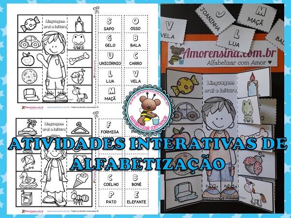 1º ano, pré 3, atividades de alfabetização e alfabetização, atividades de alfabetização 1 ano, Atividades com alfabeto, atividades com letras iniciais, Amorensina,
