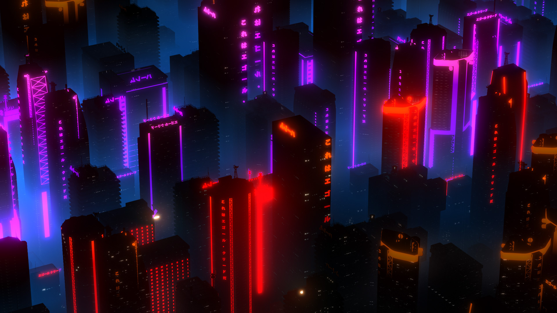 CITY NIGHT COOL WALLPAPER HD 1080