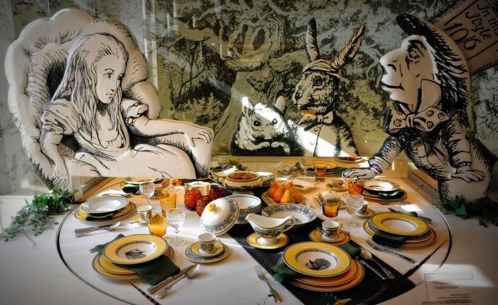 Alice in wonderland, museum Mettlach, museum Saarland, Saar
