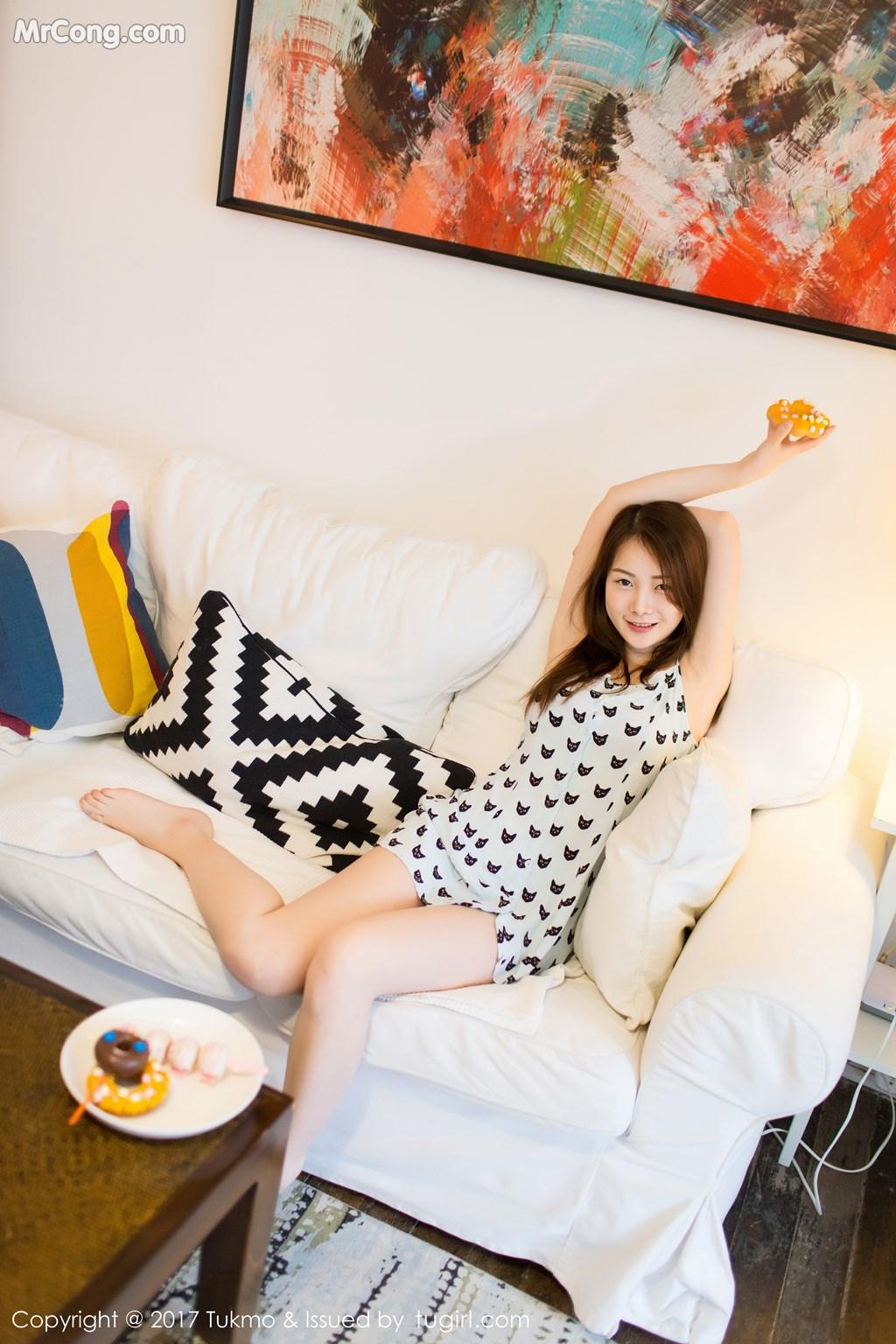 Image Tukmo-Vol.101-Mian-Mian-MrCong.com-006 in post Tukmo Vol.101: Người mẫu Mian Mian (绵绵) (45 ảnh)