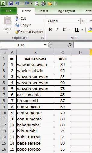 Rumus Excel Persentase : rumus, excel, persentase, Menggunakan, Rumus, Sederhana, Microsoft, Excel