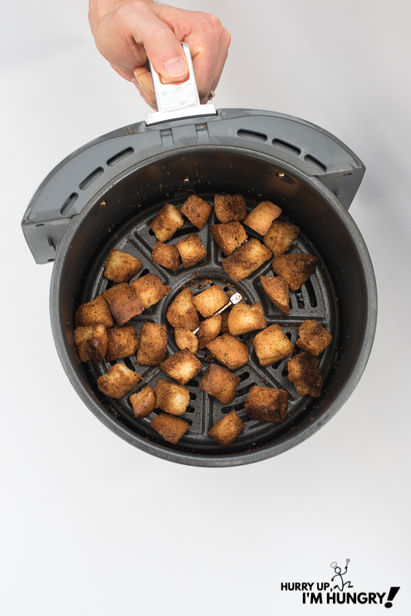Air fryer recipe: how to make your own croutons