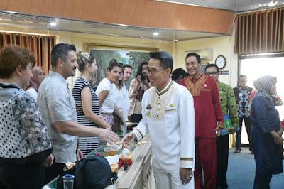Dosen dan Mahasiswa Kroasia Kunjungi Lampung Timur
