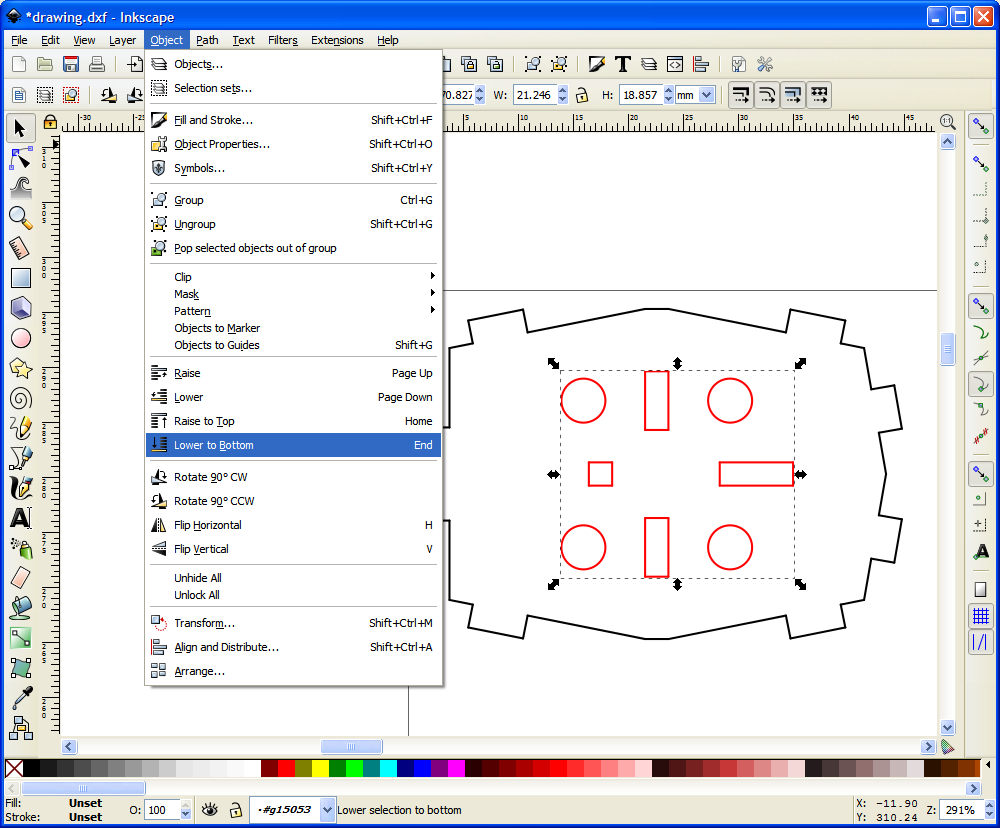Drawing Lines With Inkscape : Nerd club newlydraw inkscape and dxf files
