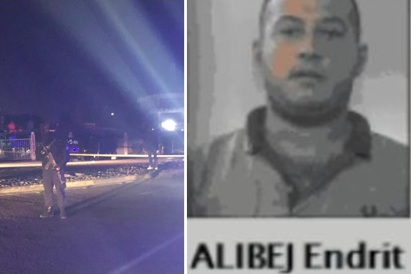 Executed in Elbasan; Italian media: Endrit Alibej, boss of a cocaine network