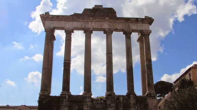 starożytne budowle w Rzymie