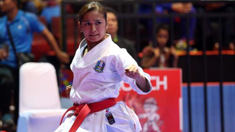 Tim Karate Indonesia di Sea Games 2019 Raih Hasil Maksimal