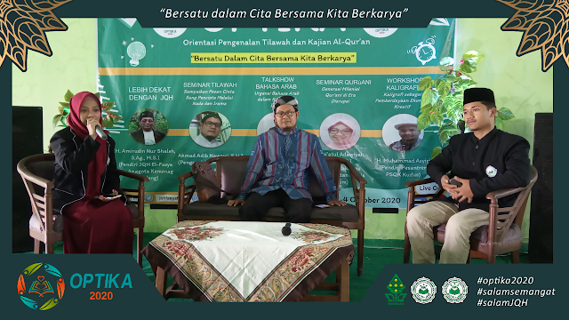 Hari kedua OPTIKA, Al-Qur'an Dilagukan Boleh Atau Tidak? Ini Jawaban Ahmad Adib Nawawi