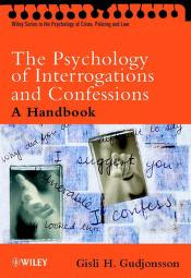The Psychology Of Interrogations PDF book