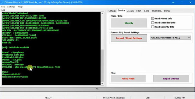 Symphony Boot File V120, i10 Plus, P8 Pro Secure Boot and FRP