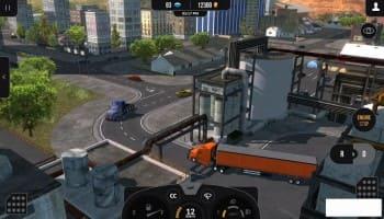لعبة euro truck simulator 2 للاندرويد
