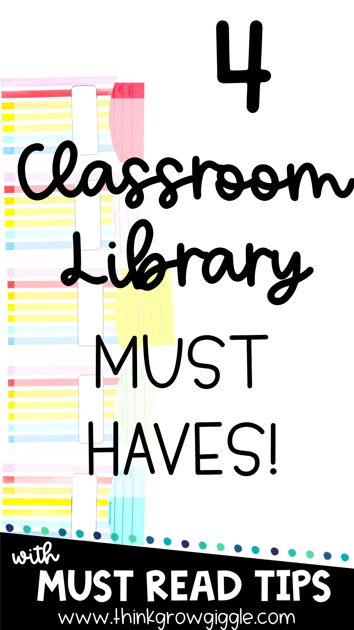 classroom library tips and organization ideas
