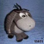 patron gratis burro amigurumi, free amigurumi pattern butter
