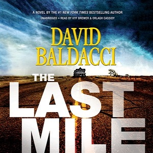 Orlagh Cassidy narrator David Baldacci author The Last Mile