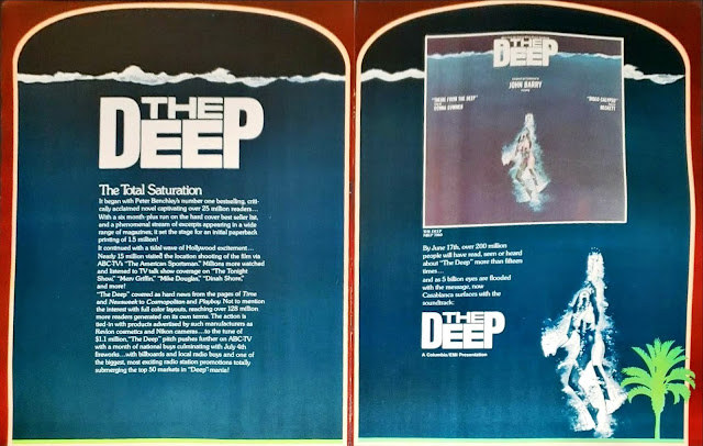 The Deep saturation marketing campaign