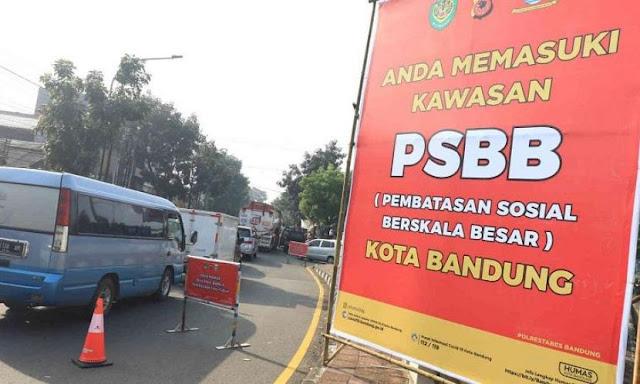 PSBB Kota Bandung Diperpanjang Hingga 29 Mei