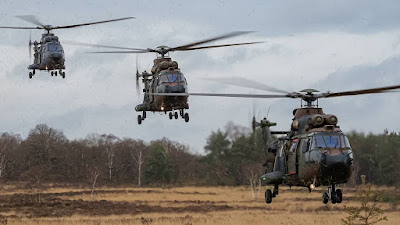 25 years Cougar helicopter Netherlands