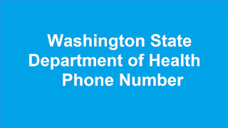 Washington State Department of Health Phone Number