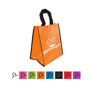 Bolsas baratas personalizadas Naranja