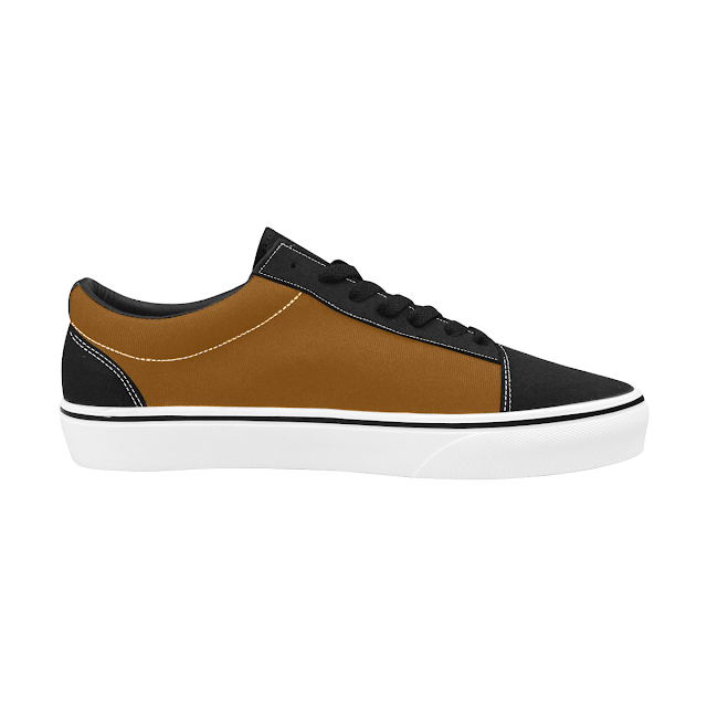 GOMAGEAR SUBLIME LOW CUT SNEAKERS - BROWN